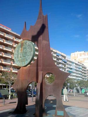 Monument peseta 2