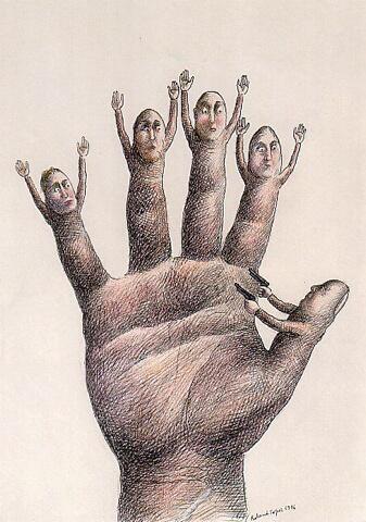 Roland Topor Hand